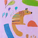 "'Zoe's Numbat"" by Zoe Eastcott (2018) by Peter Evans Art"