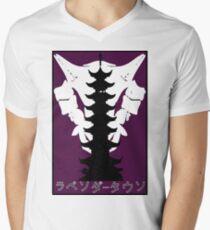 pokemon tower lavender town Men's V-Neck T-Shirt