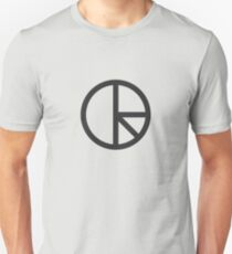 DR - Monogram Grau Unisex T-Shirt