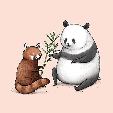 Panda Friends  by SophieCorrigan