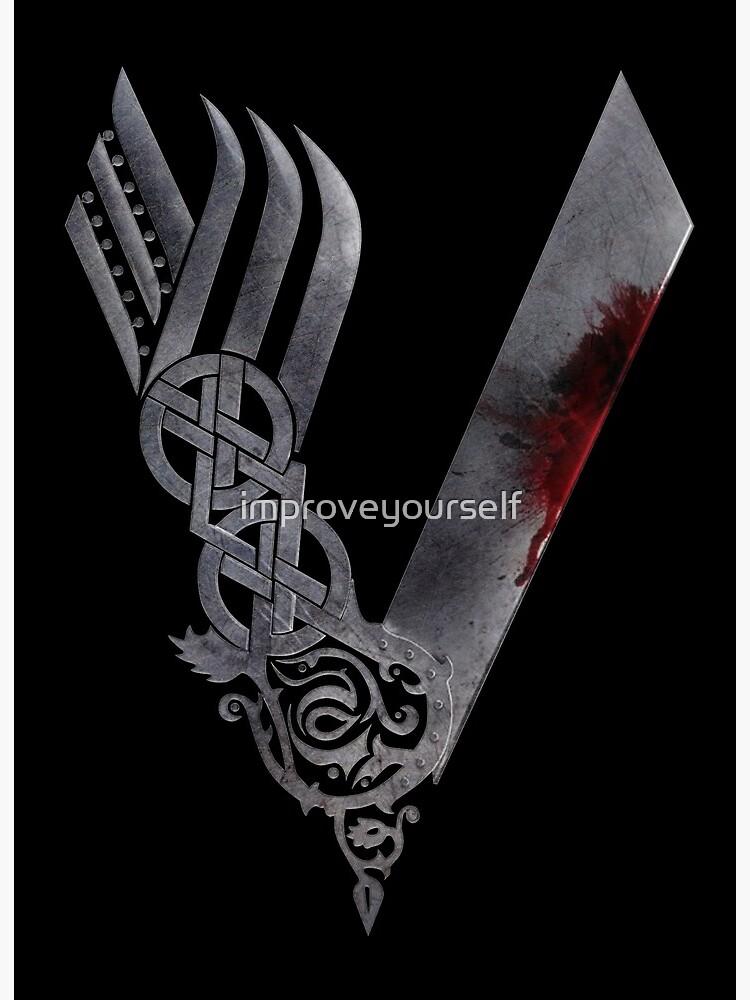ab325820 Vikings HD logo | Art Board Print