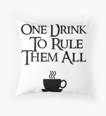 COFFEE - One drink to rule them all Floor Pillow