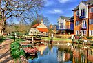 Thames Lock - Weybridge - HDR by Colin  Williams Photography
