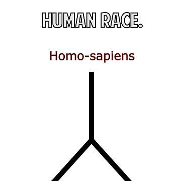 The Evolution of Human Race. by BlokeyAarsevark
