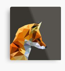 LP Fox Metal Print