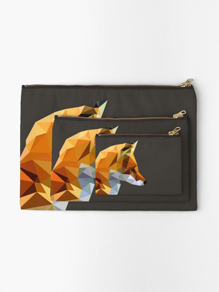 Alternate view of LP Fox Zipper Pouch