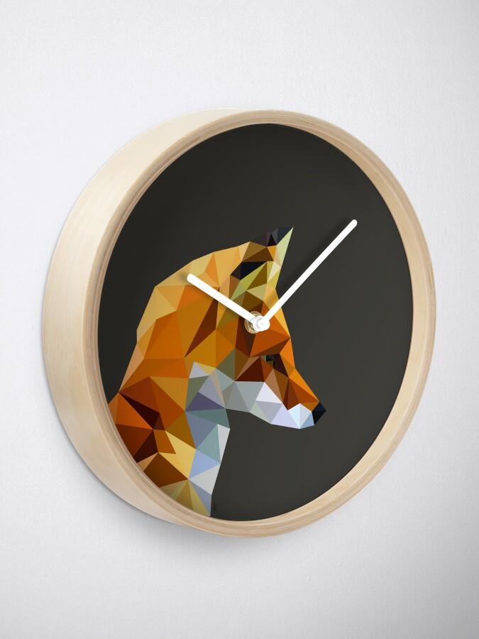 Alternate view of LP Fox Clock