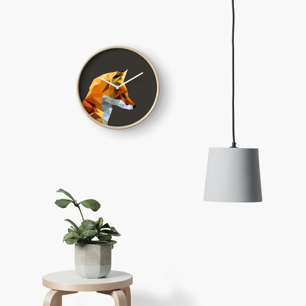 LP Fox Clock