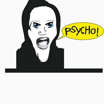 Marion Crane´s Psycho! by bakkiepleurtop