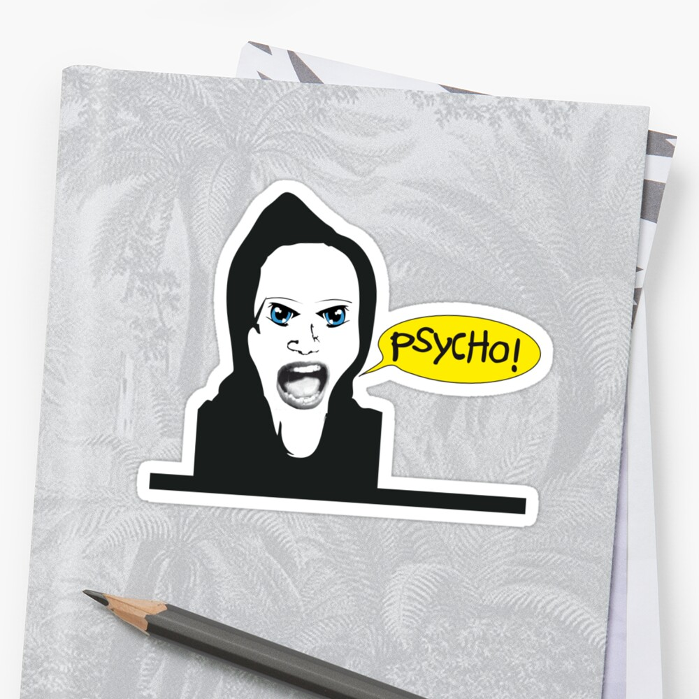 Marion Crane´s Psycho! by Peter Visser