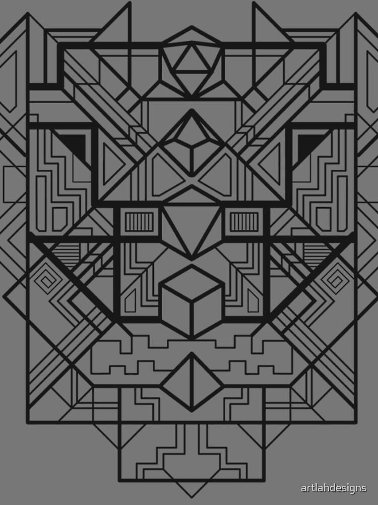 Würfel Deco Schwarz von artlahdesigns