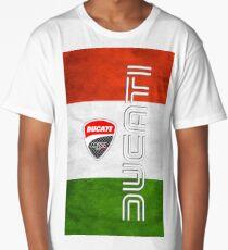 ducati italy flag Long T-Shirt
