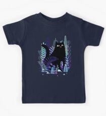 The Ferns (Black Cat Version) Kids Tee