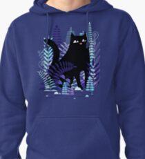 The Ferns (Black Cat Version) Pullover Hoodie