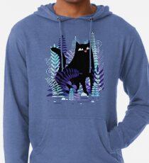 The Ferns (Black Cat Version) Lightweight Hoodie