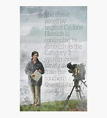 The Reporter Photographic Print