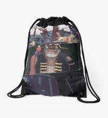 Composition 2 Drawstring Bag