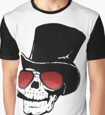 SKULL WITH SHADES SINGER Graphic T-Shirt