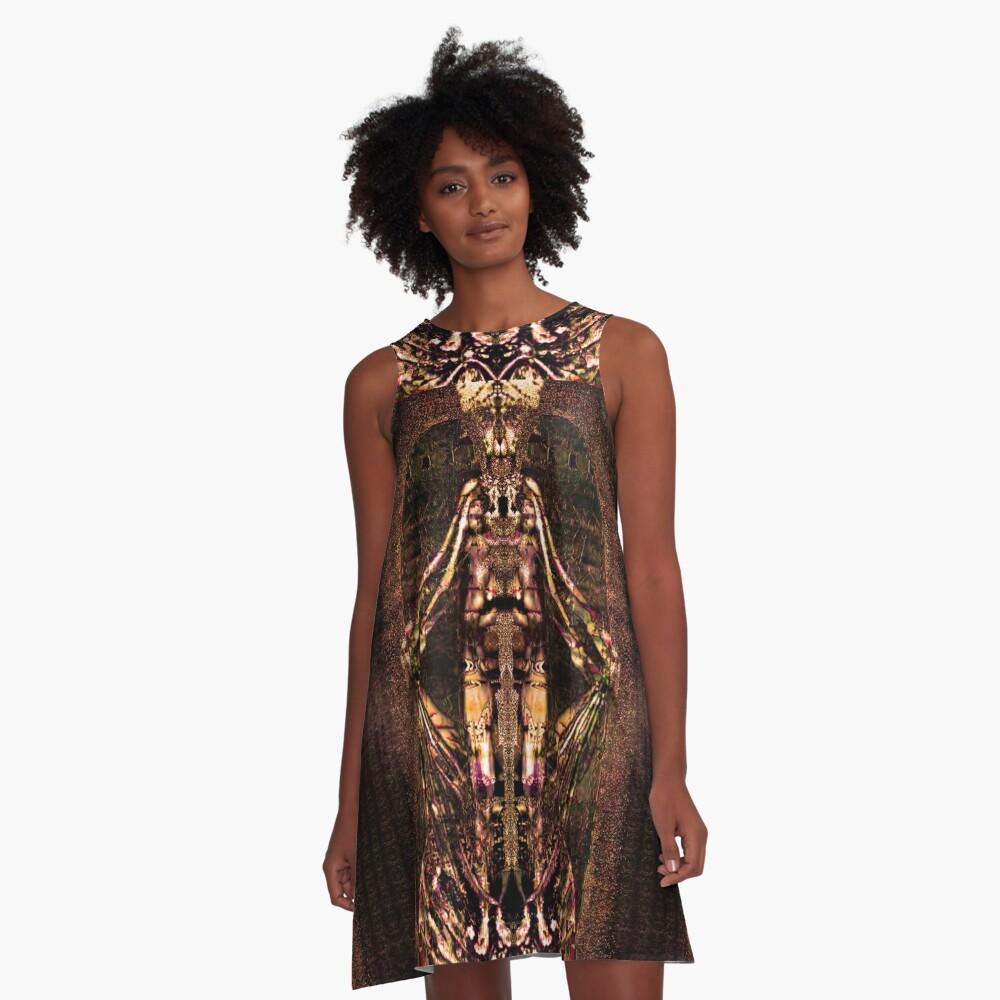 Gaia A-Line Dress Front