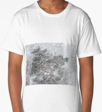 19.3.2018: Old Pine Tree in Snowfall Long T-Shirt