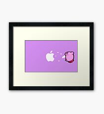 Kirby Apple Framed Print