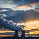 Sunset at the Reactors by EthanQuin