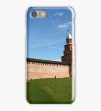 fortress wall of the Novgorod Kremlin iPhone Case/Skin