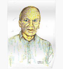 Peter Hakala Self Portrait Poster