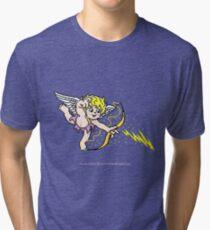 Pixel Cupid 2 Tri-blend T-Shirt