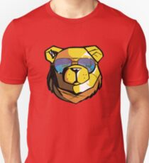 Robust Bear Sitges view Unisex T-Shirt