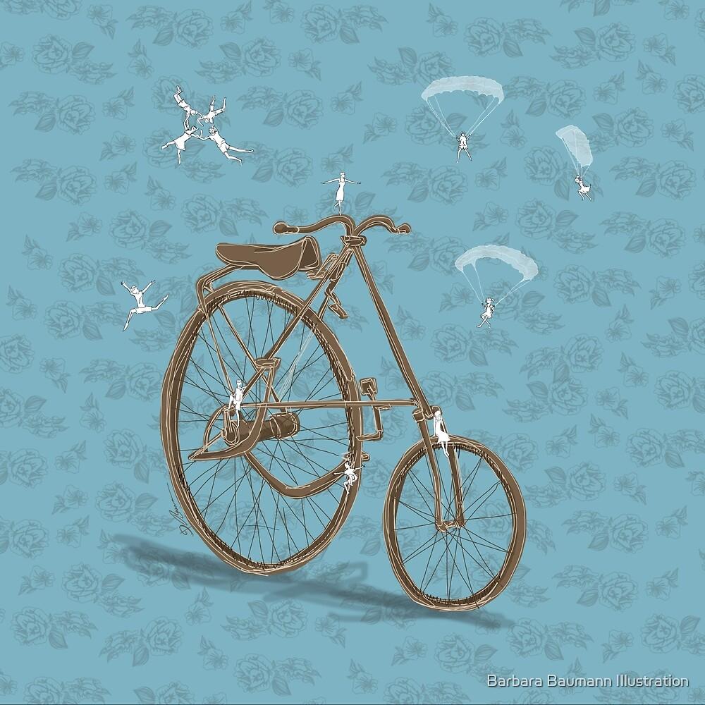 Vintage Rad von Barbara Baumann Illustration