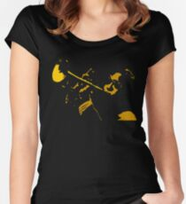 TRUMPET PLAYER Women's Fitted Scoop T-Shirt