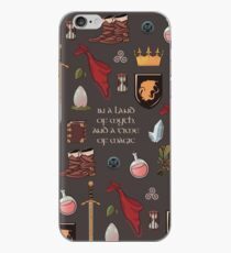In a land of myth and a time of magic_Merlin iPhone Case