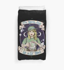 Mystic Miss Maggie Esmerelda (color) Duvet Cover