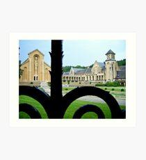 Abbaye d'Orval Art Print