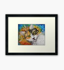 Cat Gracie Framed Print