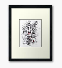 wonderland shattered Framed Print