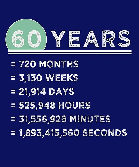 60 Years Funny Gifts 60th Birthday 60th Wedding Anniversary