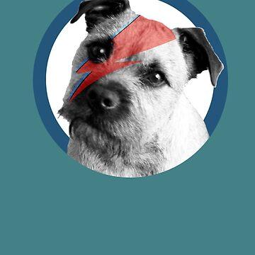 Border Terrier Rockstar by shufti