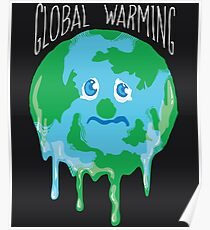 Global Warming Earth Day Poster