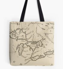 Vintage Map of The Great Lakes (1794) Tote Bag
