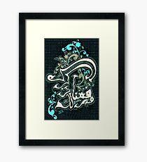 Warafana Laka Zikrak calligraphy painting Framed Print