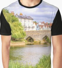 Relax By The Riverside Graphic T-Shirt