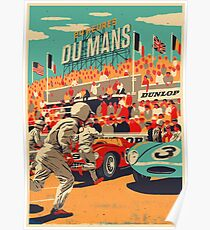 24 hours of Le Mans Poster