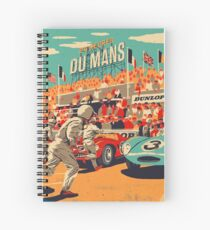 24 hours of Le Mans Spiral Notebook