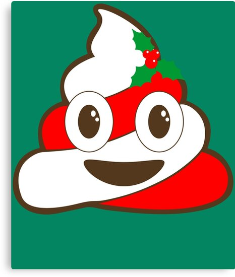 christmas poop emoji by nbretail - Christmas Poop
