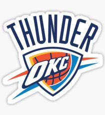 OKC Thunder Sticker