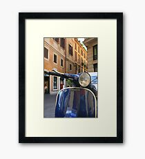 Italian Scooter Framed Print
