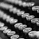 Vintage Typewriter by Astrid Ewing Photography