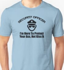 security officer Unisex T-Shirt